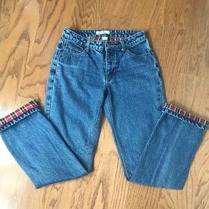 Natural Reflections Flannel Lined Jeans - SZ 2